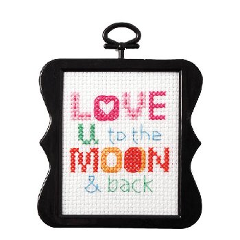 My 1st Stitch Kit - Love You to the Moon and Back (5 x 7)
