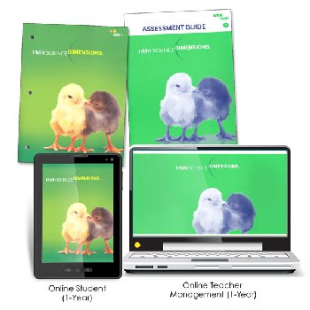 Science Dimensions Homeschool Package Grade 1