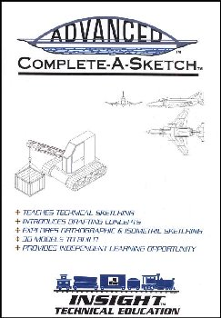 Advanced Complete-A-Sketch CD