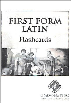 First Form Latin Flashcards