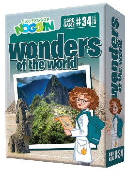 Prof Noggin's Wonders of the World Card Game