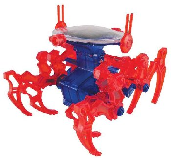 Walking King Crab Mini Solar Robot Kit