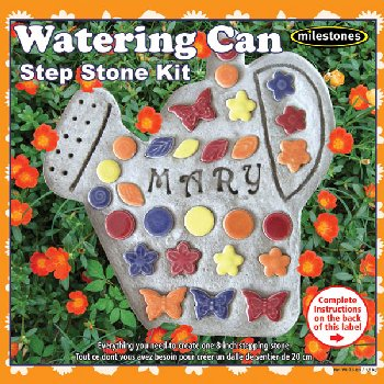 Watering Can Stepping Stone Kit