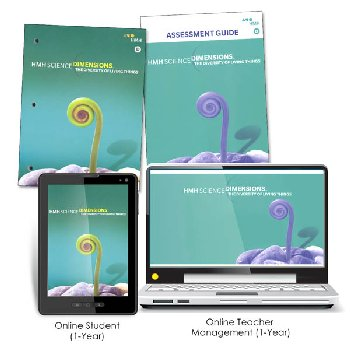 Science Dimensions Homeschool Package Module D Grades 6-8