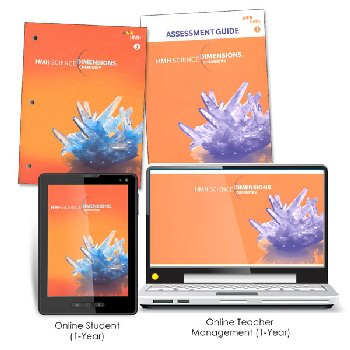 Science Dimensions Homeschool Package Module J Grades 6-8
