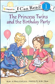 Princess Twins and the Birthday Party (I Can Read! Beginning 1)