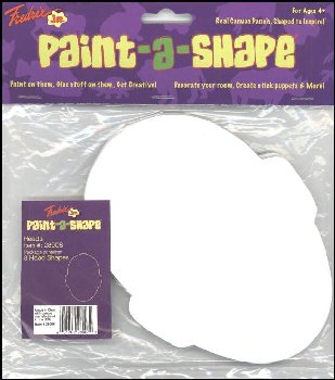Heads Paint-a-Shape 3-Pack