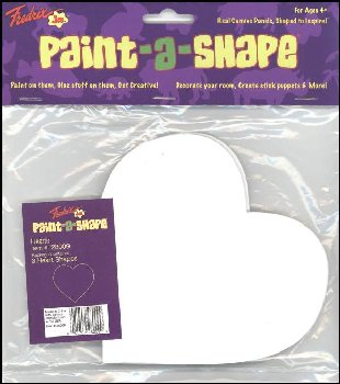 Hearts Paint-a-Shape 3-Pack