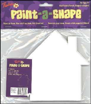 Houses Paint-a-Shape 3-Pack