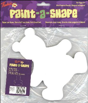 Teddy Bears Paint-a-Shape 3-Pack