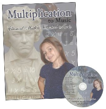 Multiplication to Music Classical Book & CD