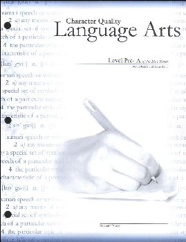Character Quality Language Arts Level Pre A (Blue Series)