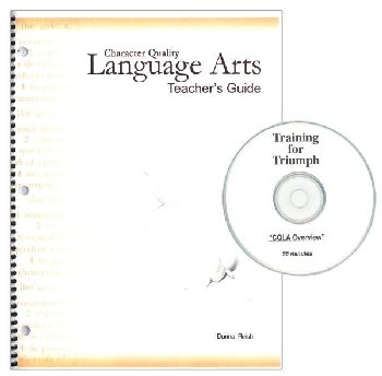 Character Quality Language Arts Teacher's Guide With CD