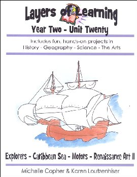 Layers of Learning Unit 2-20: Explorers-Caribbean Sea-Motors-Renaissance Art II