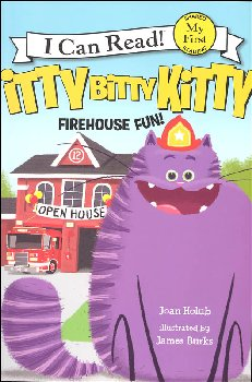 Itty Bitty Kitty: Firehouse Fun (I Can Read! My First)