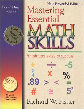 Mastering Essential Math Skills Book One with DVD