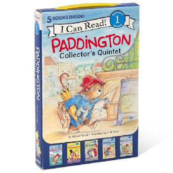 Paddington Collector's Quintet: 5 Fun-Filled Stories in 1 Box! (I Can Read! Beginning 1)