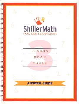 ShillerMath Lesson Book 3 Answer Guide