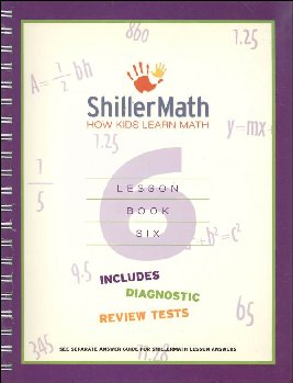 ShillerMath Lesson Book 6