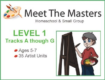 Meet the Masters @ Home A-G Bundle Ages 5-7