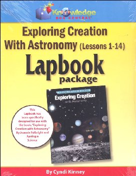 Apologia Exploring Creation With Astronomy Complete Lapbook Package Printed Booklets