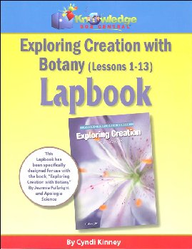 Apologia Exploring Creation With Botany Complete Lapbook Package Printed