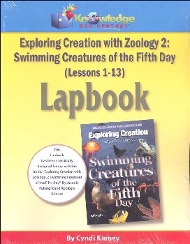 Apologia Exploring Creation With Zoology 2 Complete Lapbook Package Printed Booklets
