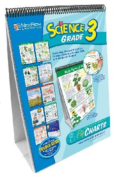 Science Grade 3 Curriculum Mastery Flip Chart Set