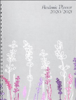 Monthly/Weekly Wildflowers Academic Planner (August 2019-July 2020)