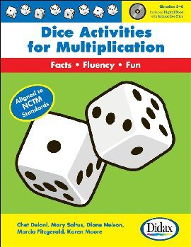 Dice Activities for Multiplication w/ CD