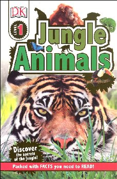 Jungle Animals (DK Reader Level 1)