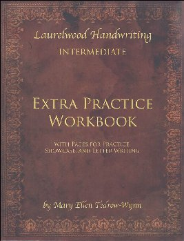Laurelwood Handwriting Extra Practice Workbook for Intermediate Grades