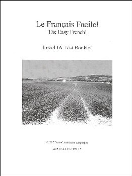 Easy French Level 1A Test Book
