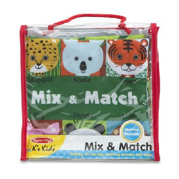 K's Kids Cloth Book - Mix & Match