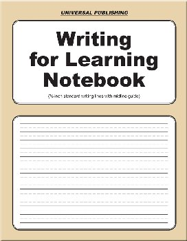 Writing for Learning Notebook