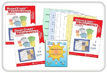 RightStart Mathematics Level A Book Bundle 2nd Edition