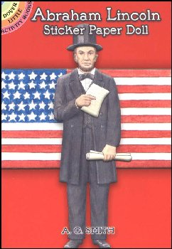 Abraham Lincoln Sticker Paper Doll
