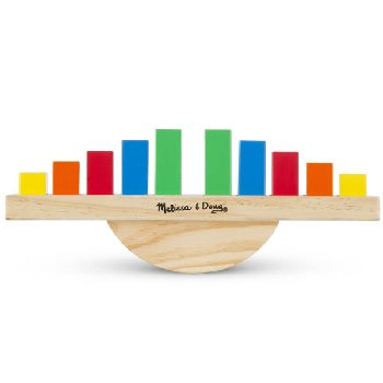 Rainbow Balance Sorting & Stacking