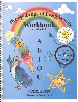 Spellings of Long Vowels Workbook Grades 1-3