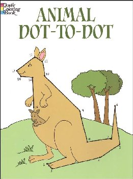Animal Dot-to-Dot Activity Book