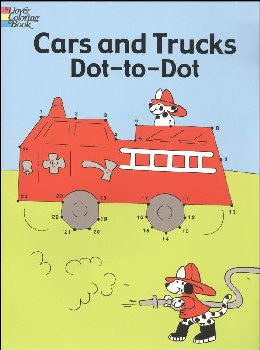 Cars and Trucks Dot-to-Dot Activity Book
