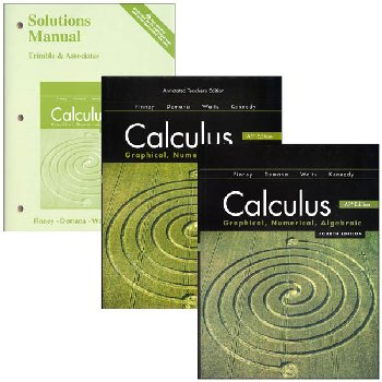 Calculus Advanced Placement Homeschool Bundle Kit (4th Edition)