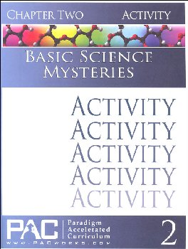 Basic Science Mysteries, Chapter 2, Activities
