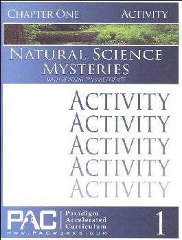 Natural Science Mysteries, Chapter 1, Activities