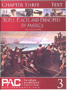 People, Places, and Principles of America Chapter 3 Text