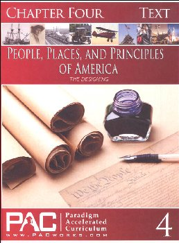 People, Places, and Principles of America Chapter 4 Text