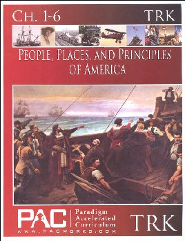 People, Places, and Principles of America Teacher Resource Kit with CD (Chapters 1-6)