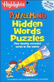 Puzzlemania: Hidden Words Puzzles