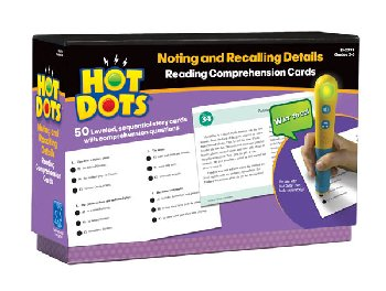 Hot Dots Reading Comprehension Set 2: Noting and Recalling Details