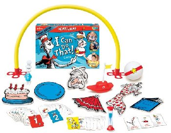 Dr. Seuss Cat in the Hat, I Can Do That! Game